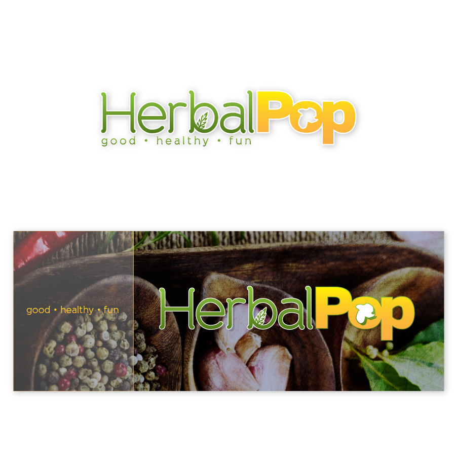 // Hebal Pop Corporate Identity