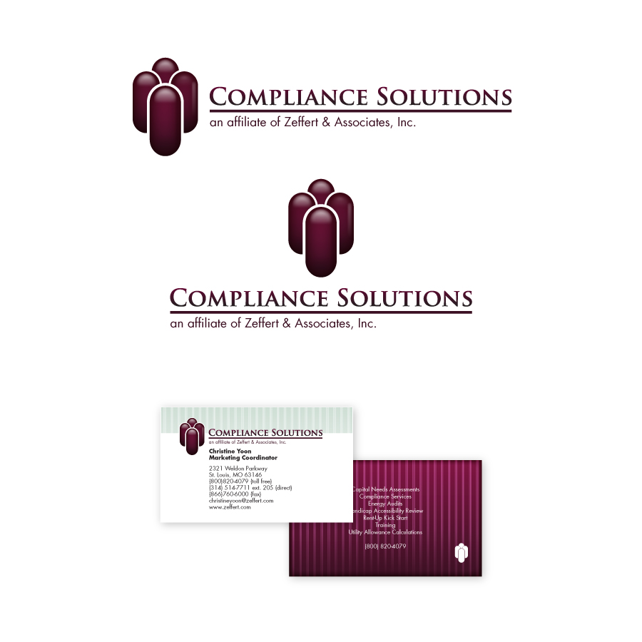// Compliance Solutions  Corporate Identity & Business Card